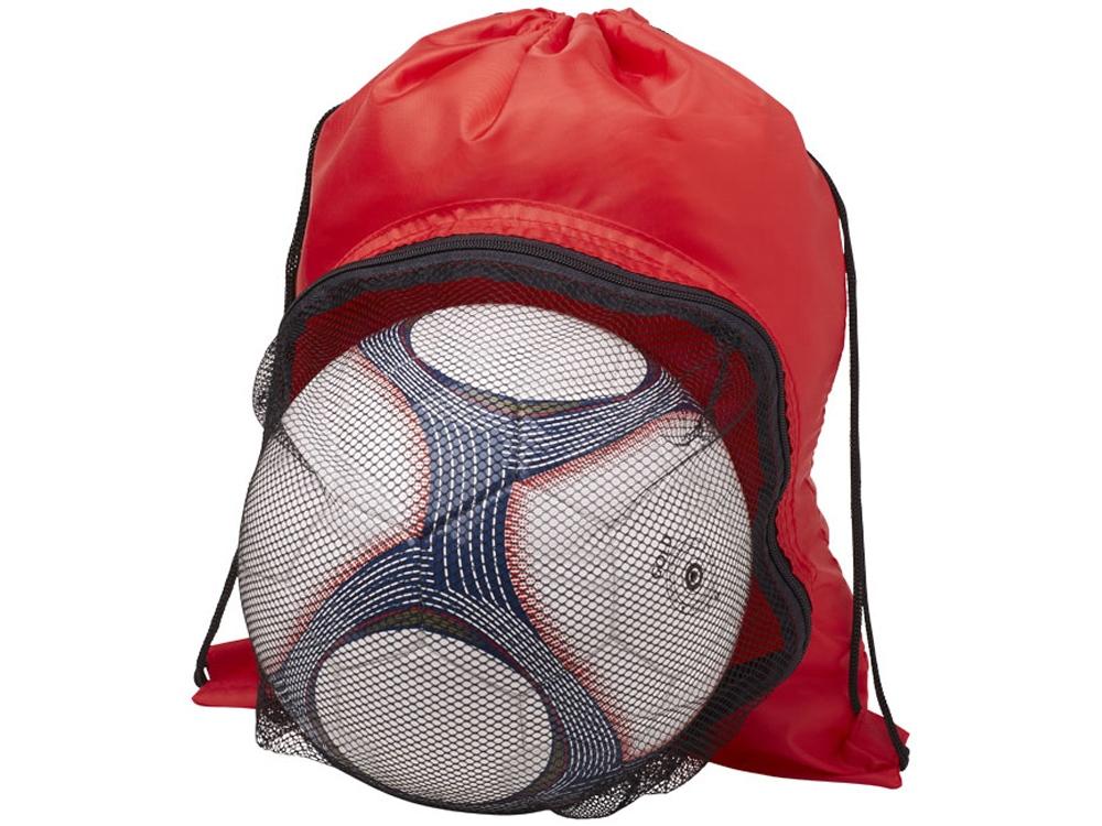 Спортивный рюкзак на шнурке, красный