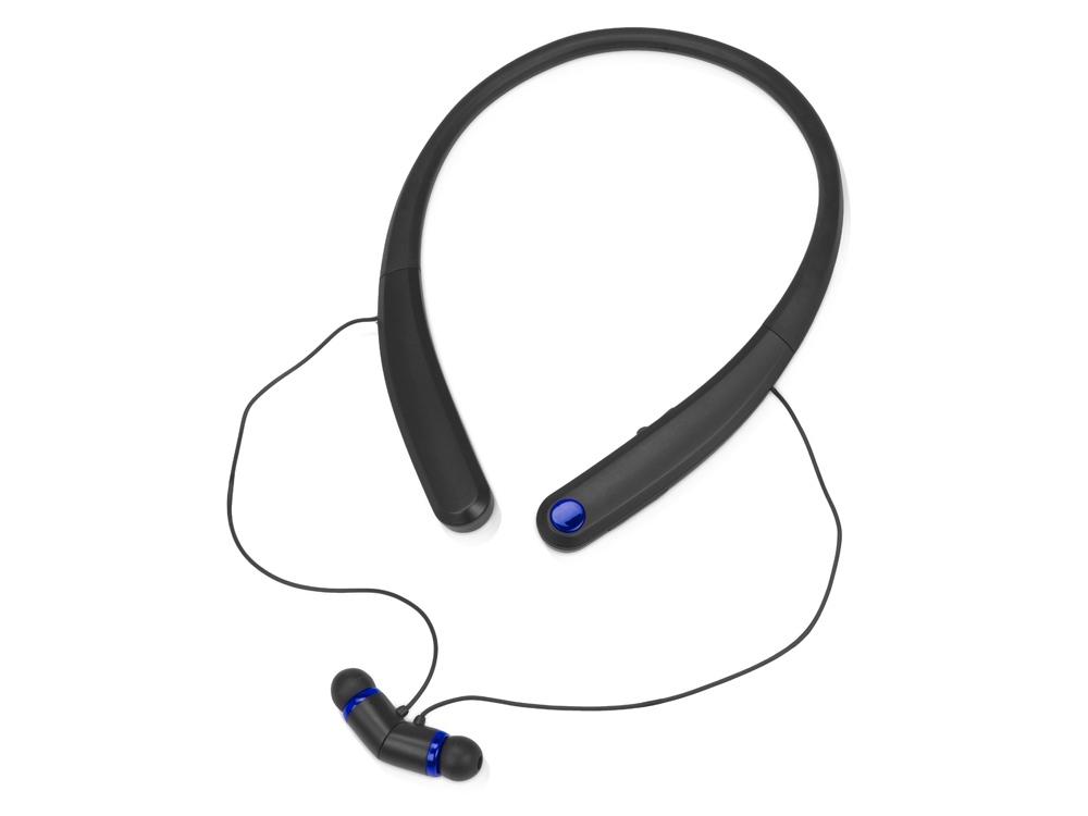 Беспроводные наушники с микрофоном «Soundway», черный/синий