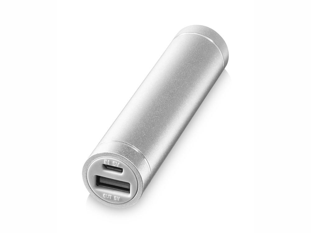 Портативное зарядное устройство Bolt, 2200 мА/ч, серебристый