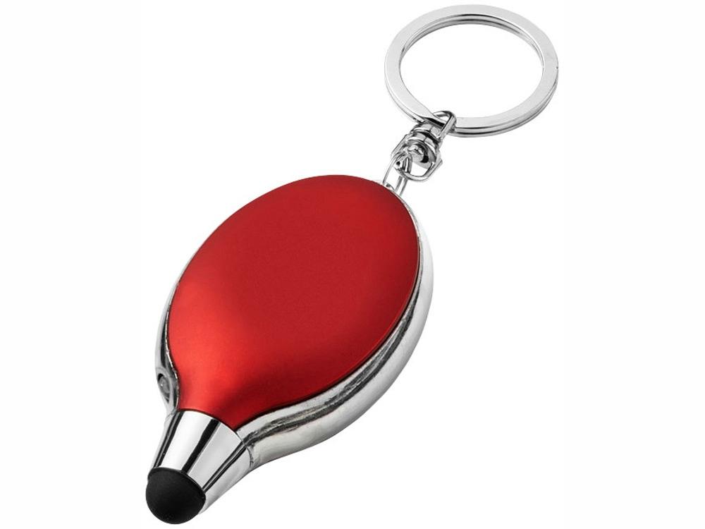Фонарик-стилус Presto, красный