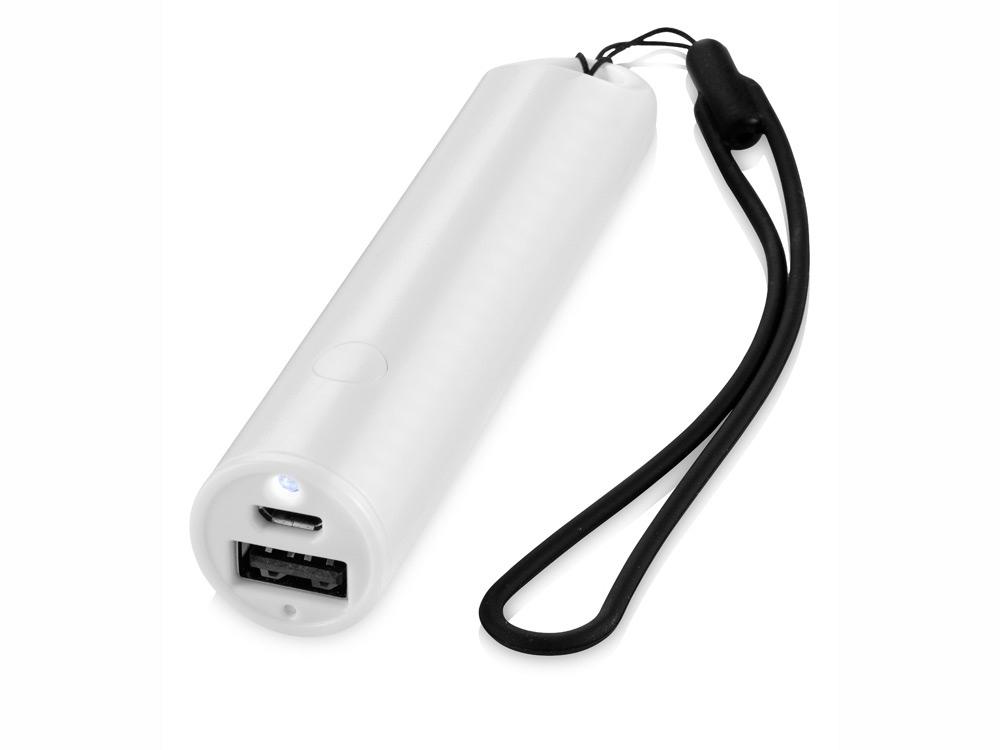 Портативное зарядное устройство Beam, 2200 mAh, белый