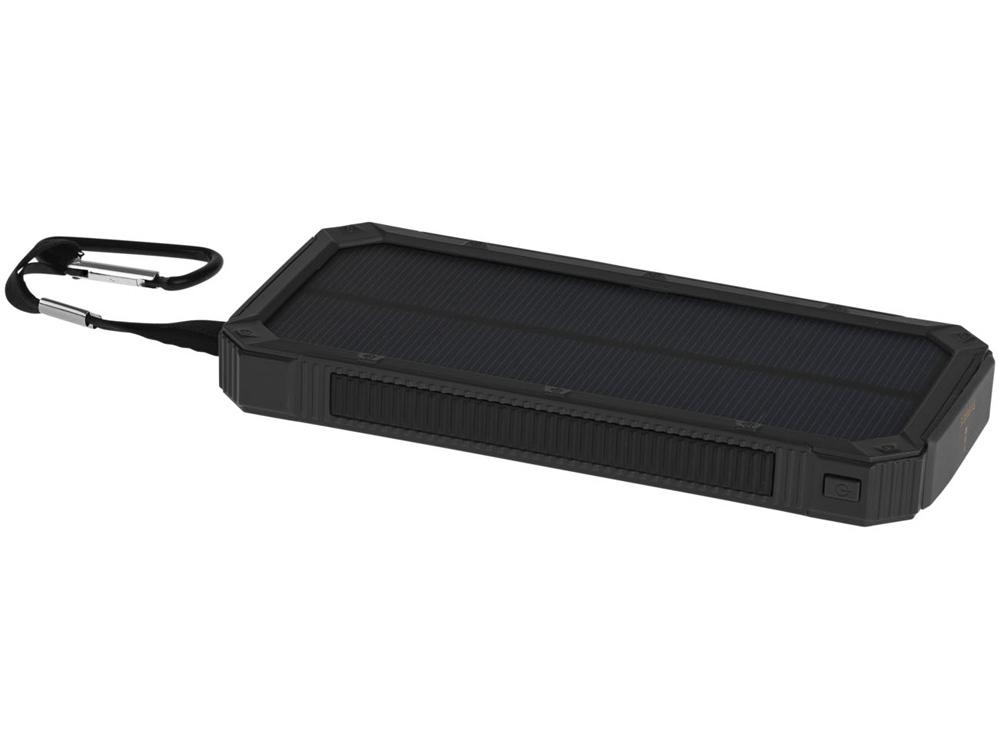 Зарядное устройство на солнечной энергии 10000 mAh, черный