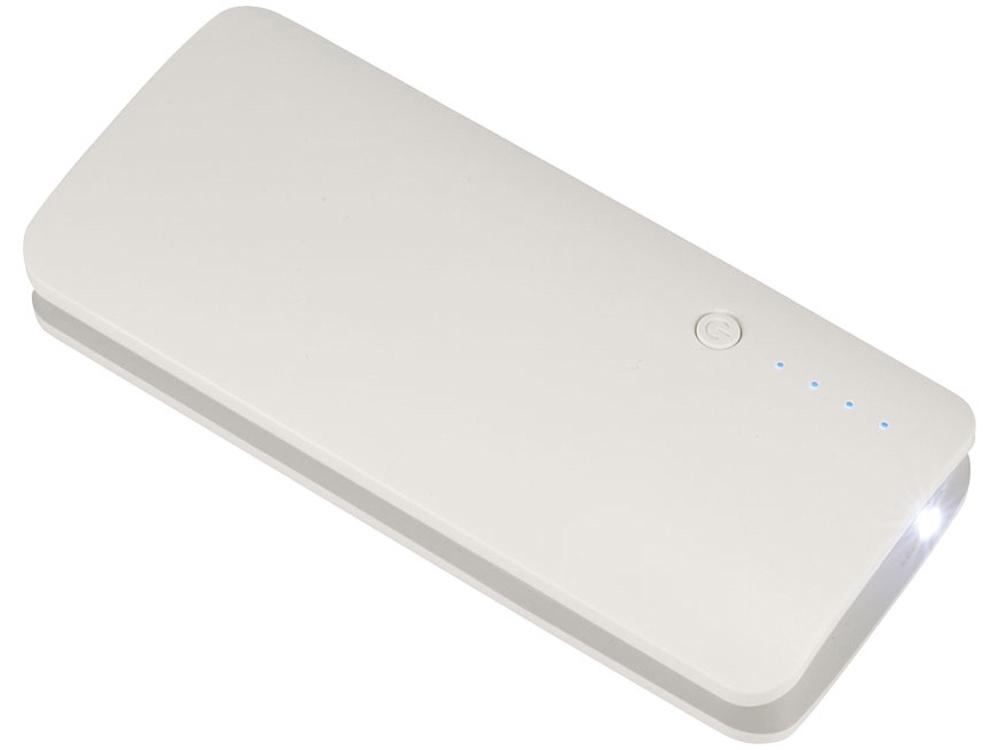 Запасное зарядное устройство 10000 mAh, белый
