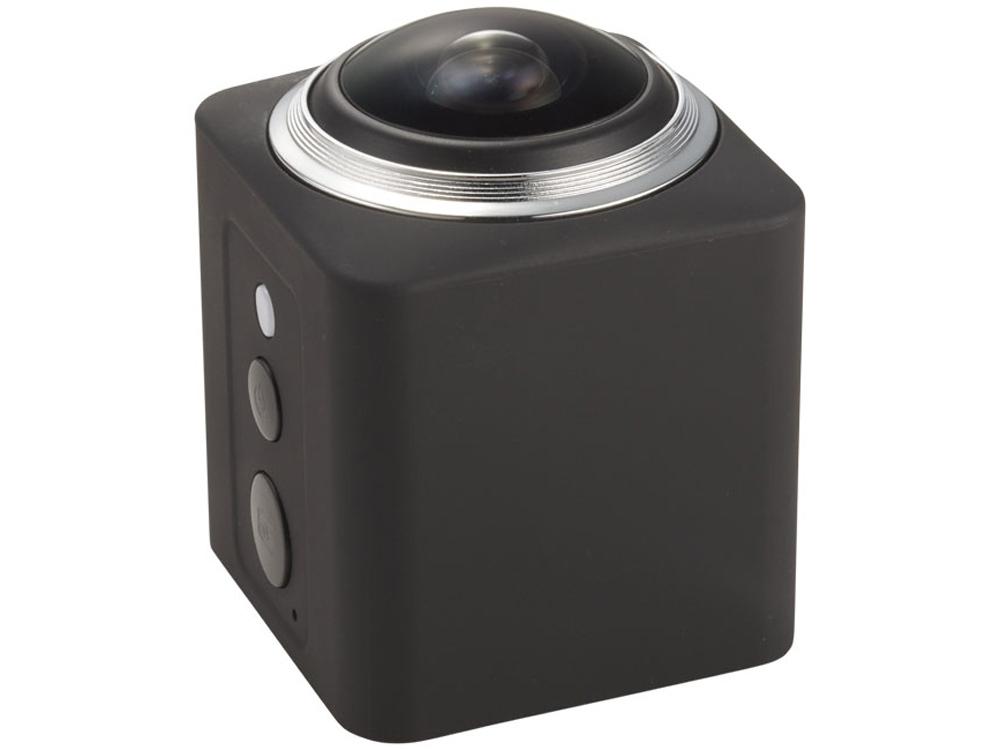 Экшн Wi-Fi камера 360°, черный