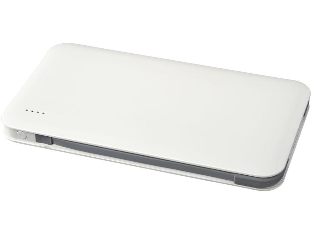 Зарядное устройство Spectro с интегрированным MFi кабелем 2 в 1, белый
