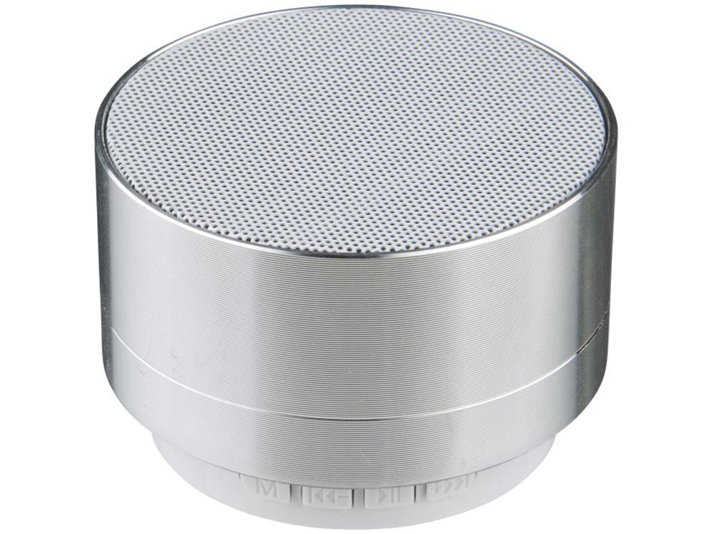 Цилиндрический динамик Bluetooth®, серебристый
