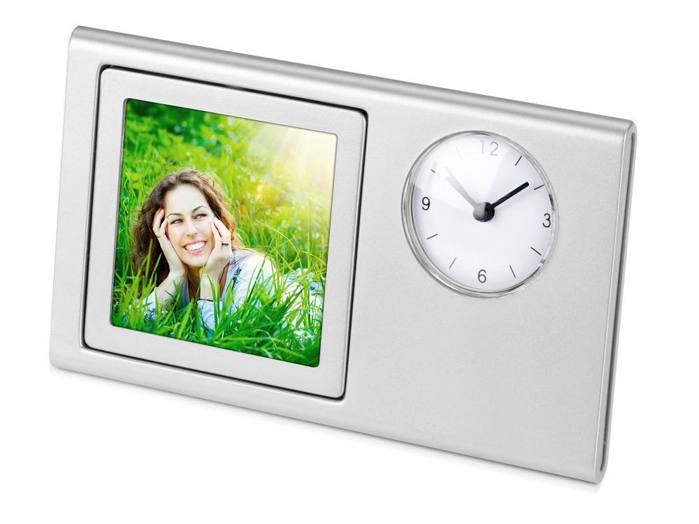 Часы «Шербург», серебристый