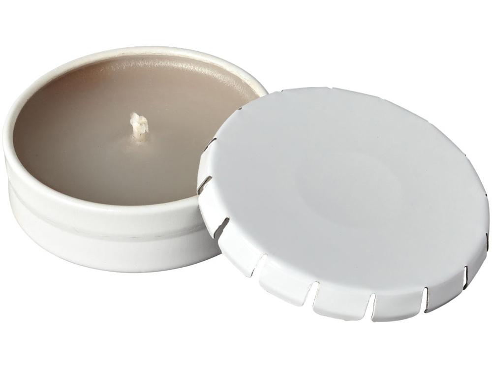 Свеча Bova в жестяной баночке, белый