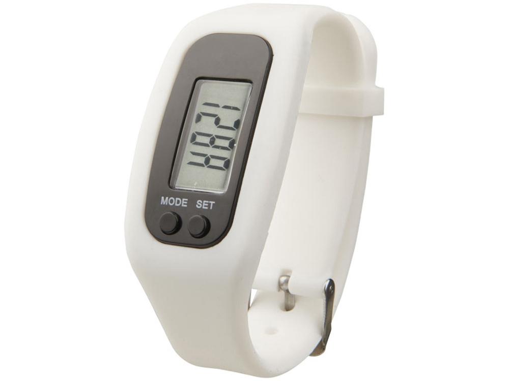 Смарт часы с шагомером Get-Fit, белый
