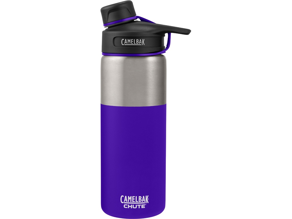 Термос CamelBak Chute Vacuum Insulated Stainless, 0,6л, пурпурный/серебристый