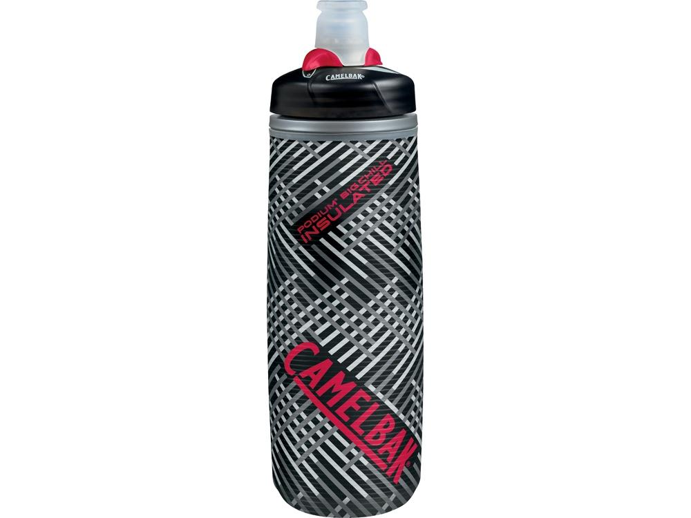 Бутылка CamelBak Podium ChilL 0,62л, серый/черный/красный