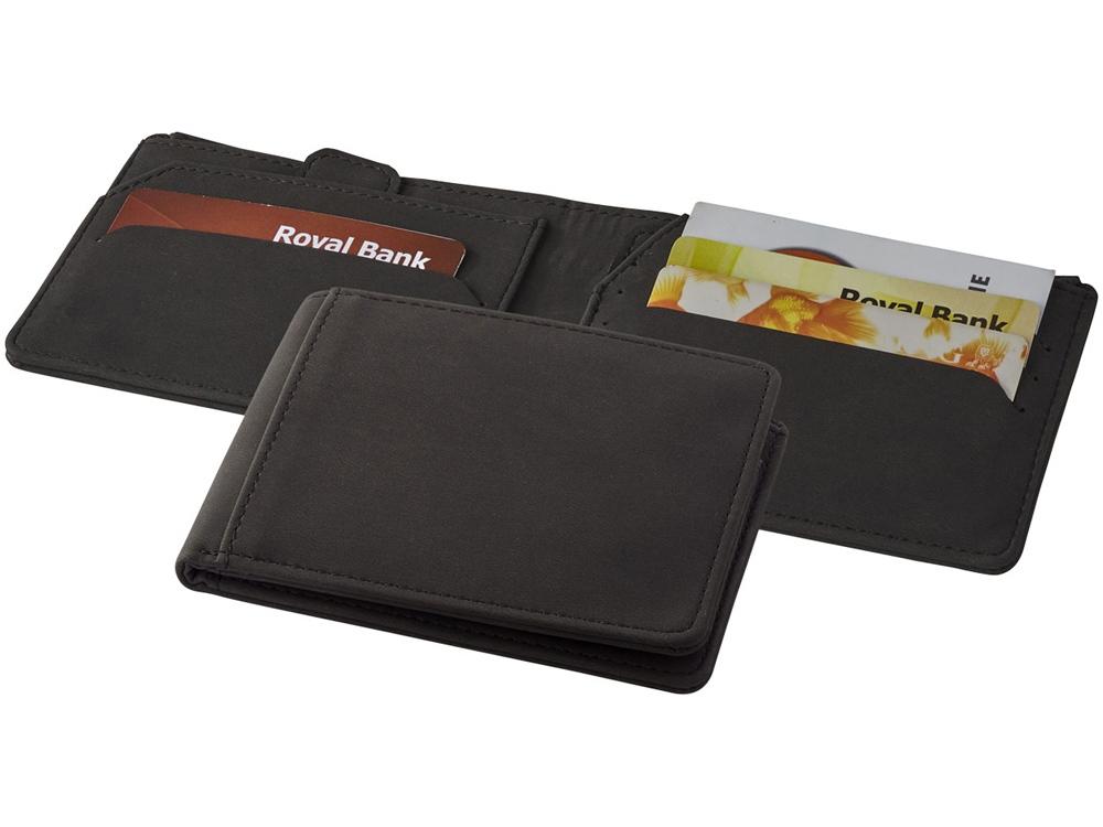 Бумажник Adventurer RFID, черный