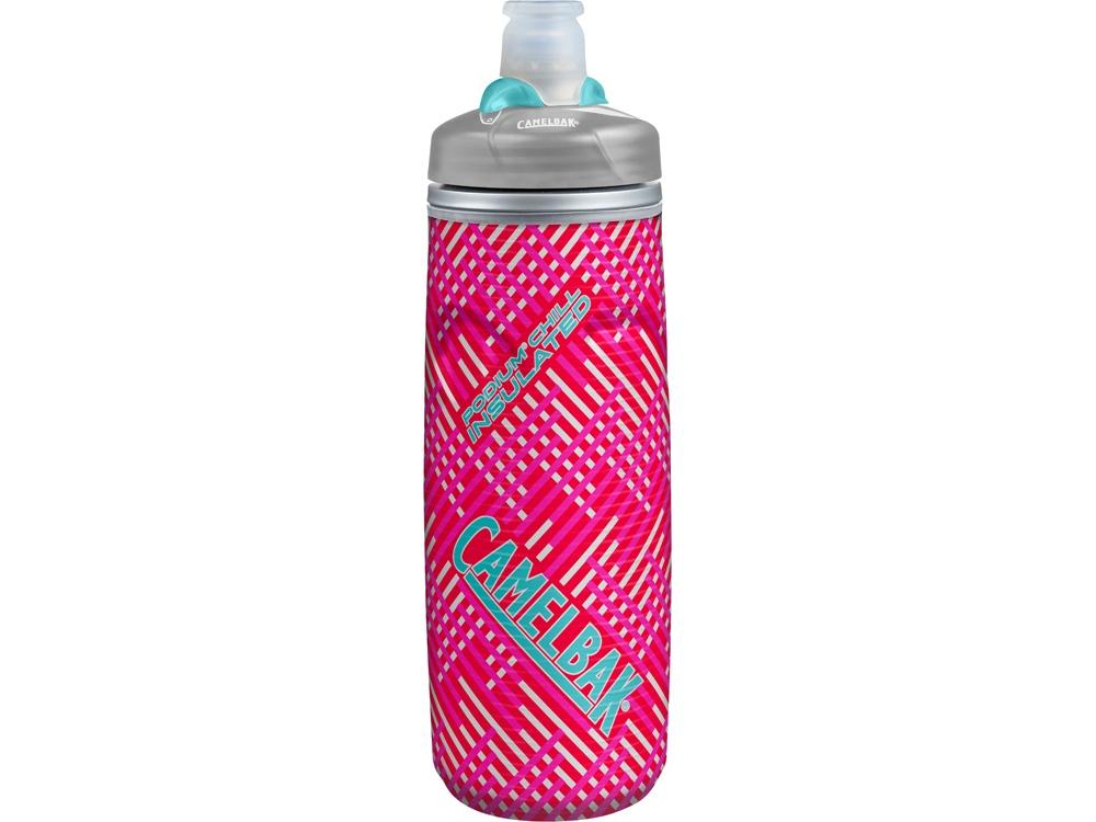 Бутылка CamelBak Podium ChilL 0,62л, розовый/серый/голубой