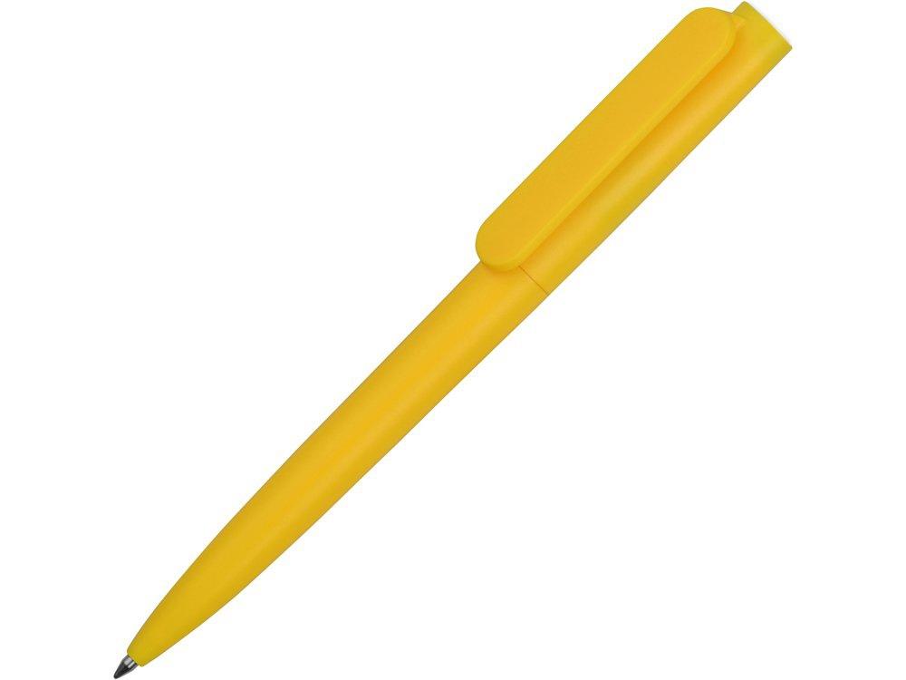 Ручка пластиковая шариковая Umbo, желтый