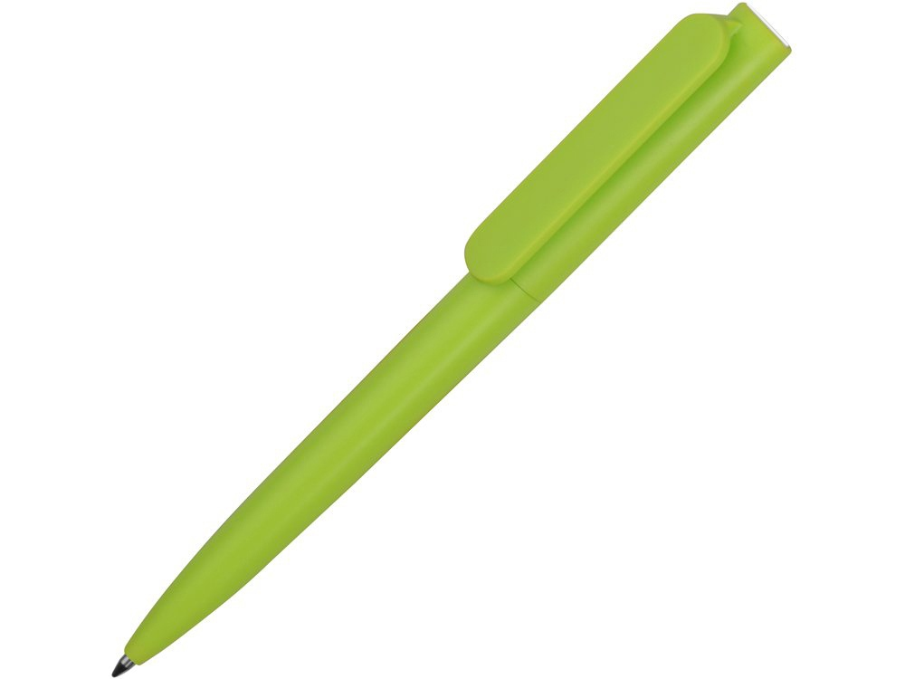 Ручка пластиковая шариковая Umbo, зеленое яблоко