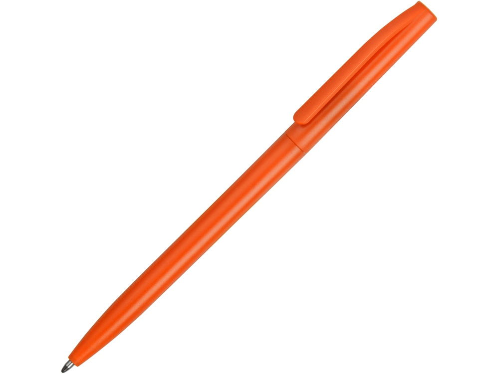 Ручка пластиковая шариковая Reedy, оранжевый