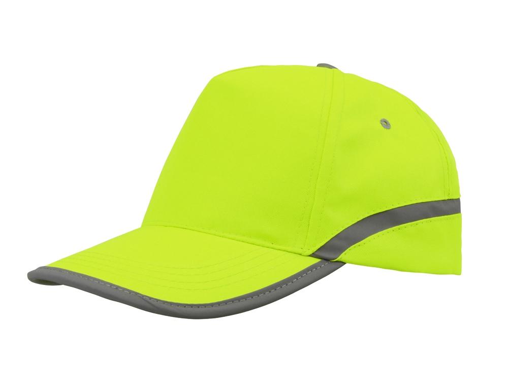 Бейсболка 5-ти панельная Neon, желтый