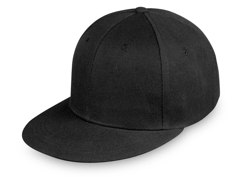 Бейсболка с прямым козырьком «Los Angeles», черный