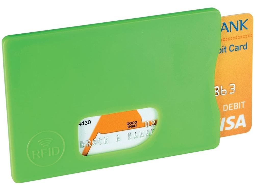 Защитный RFID чехол для кредитных карт, лайм