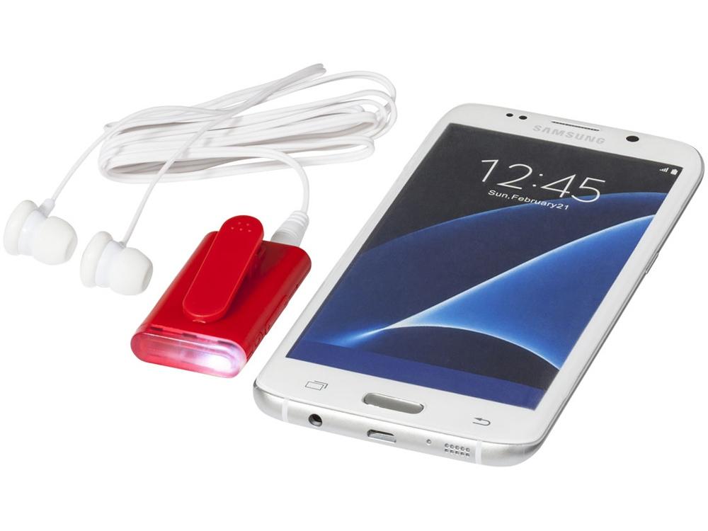 Ресивер с функцией Bluetooth®, красный