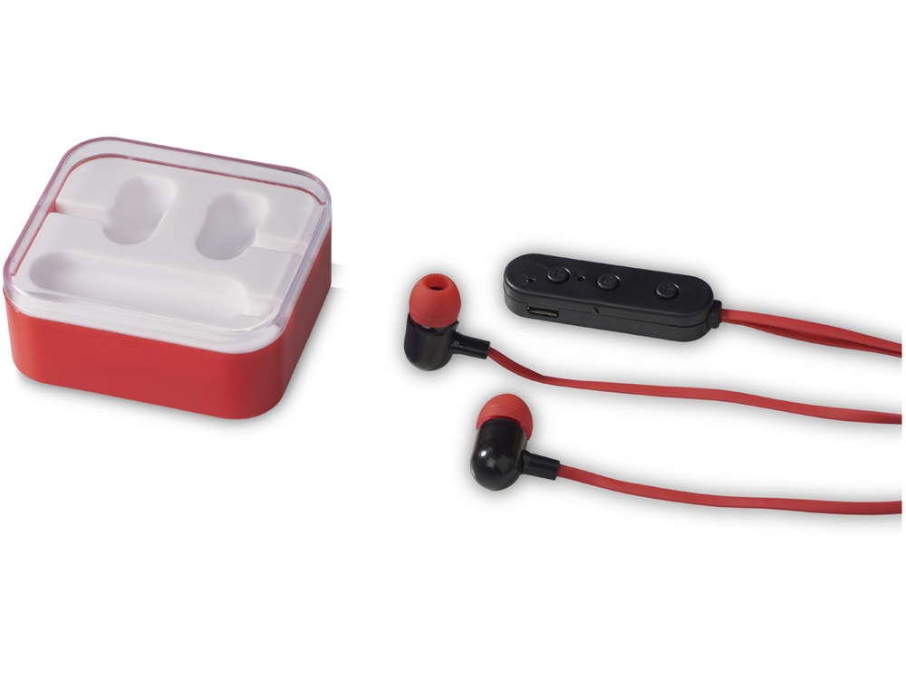 Наушники Color Pop с Bluetooth®, красный