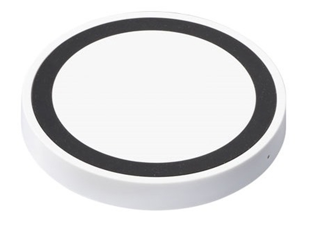 Устройство для беспроводной зарядки, белый/черный