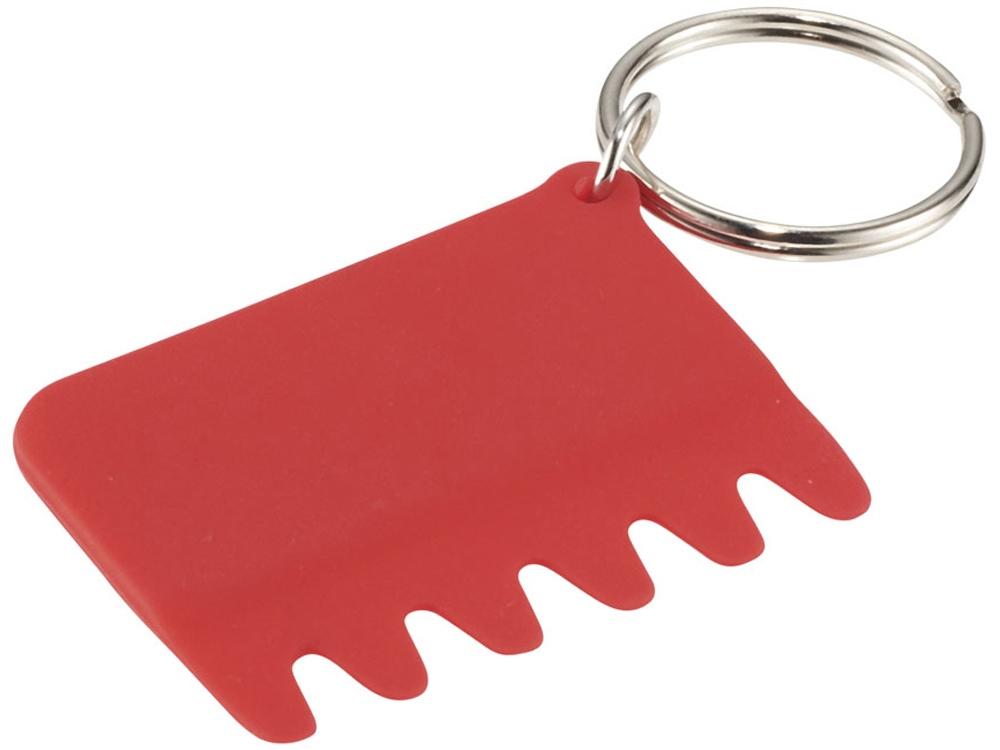 Силиконовая щетка для клавиатуры, красный