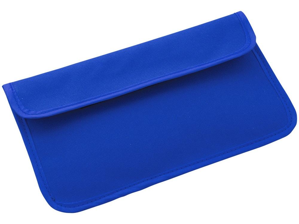RFID блокер сигнала и футляр для телефона, ярко-синий