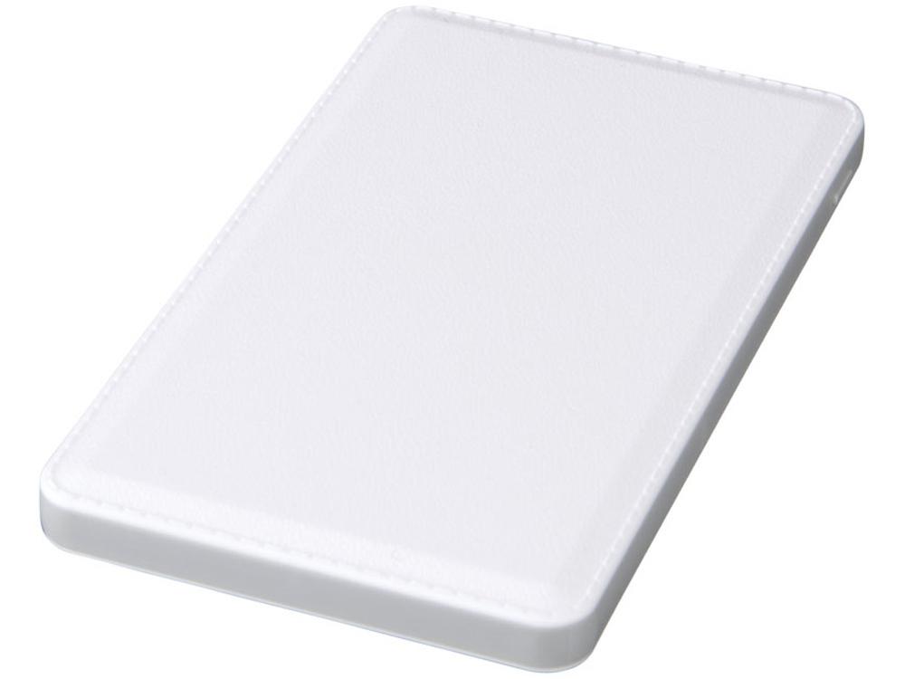 Phase Беспроводной внешний аккумулятор имеет емкость 3000 мА/ч, белый
