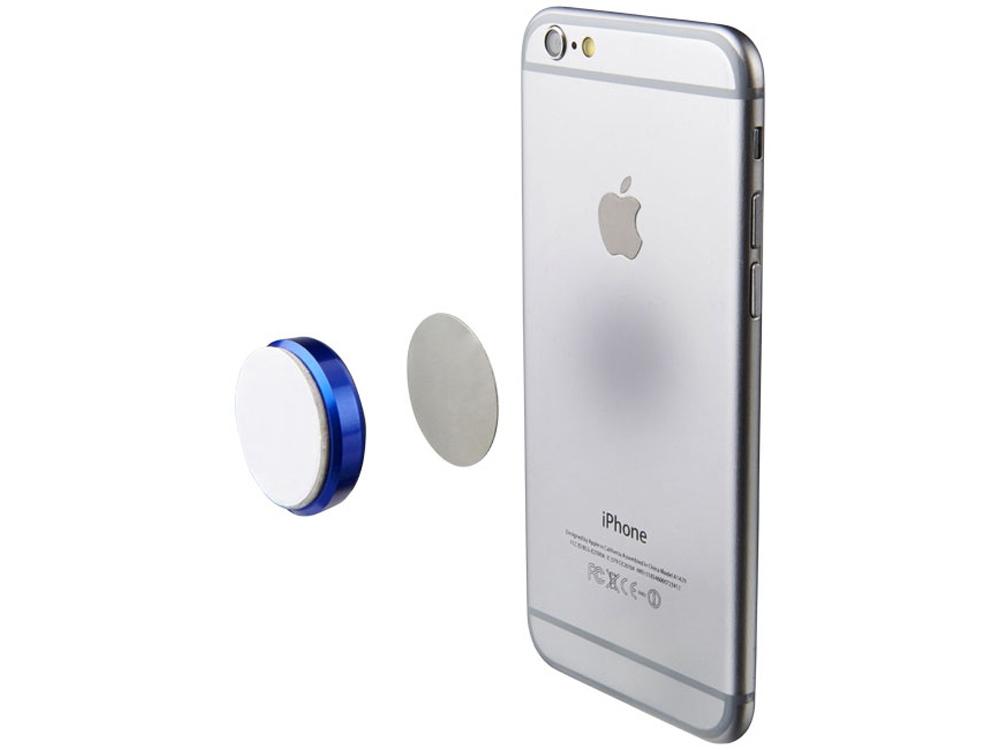 Магнит для телефона с клейкой подложкой, синий