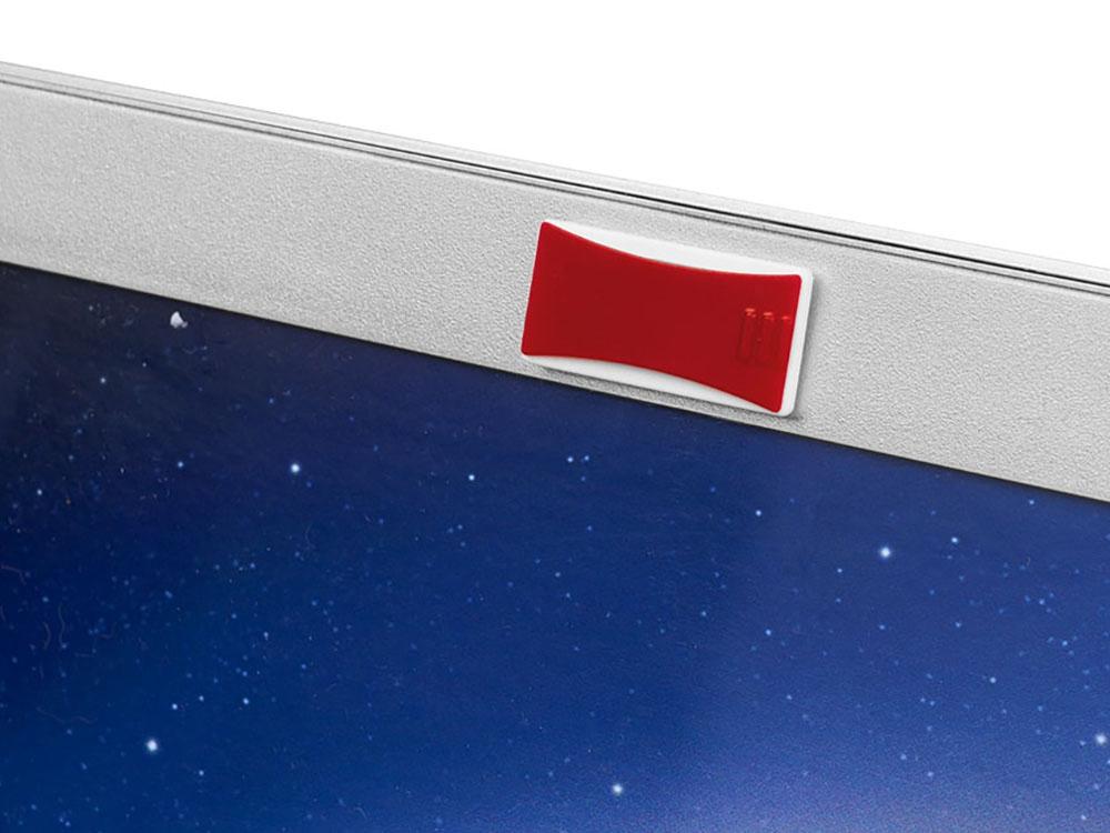 Блокиратор веб-камеры, красный