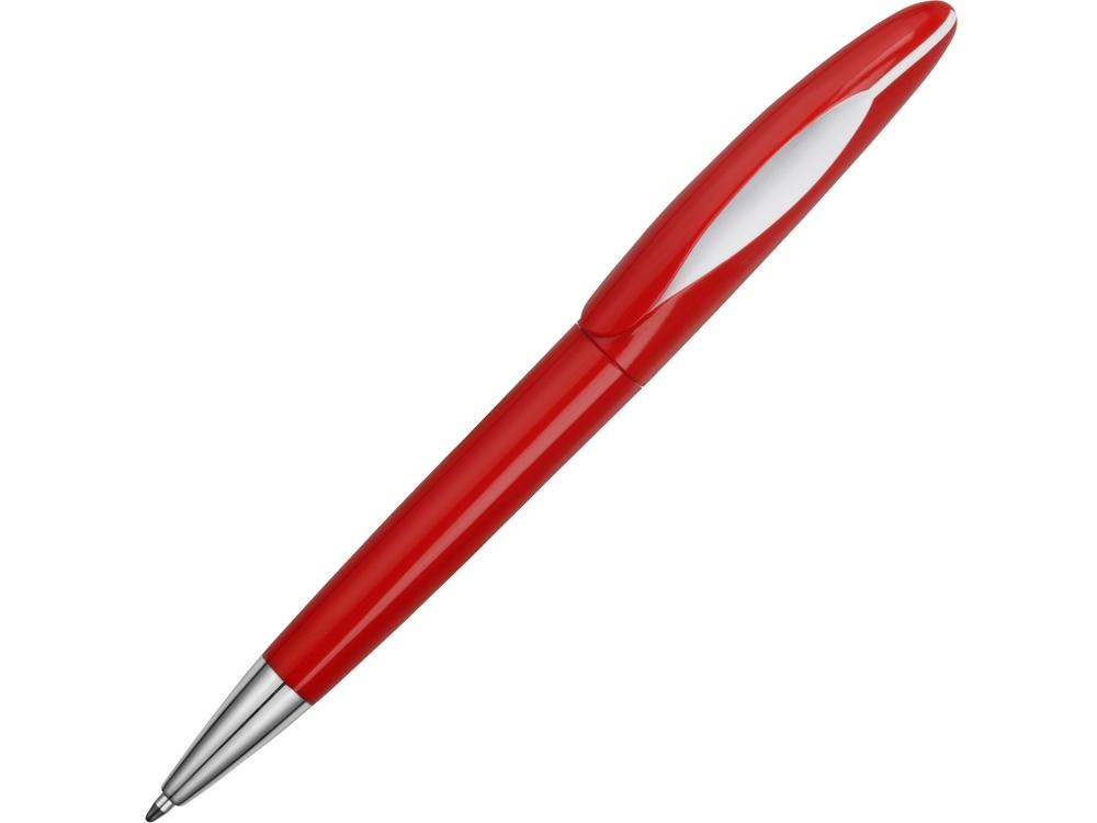 Ручка пластиковая шариковая «Chink», красный/белый