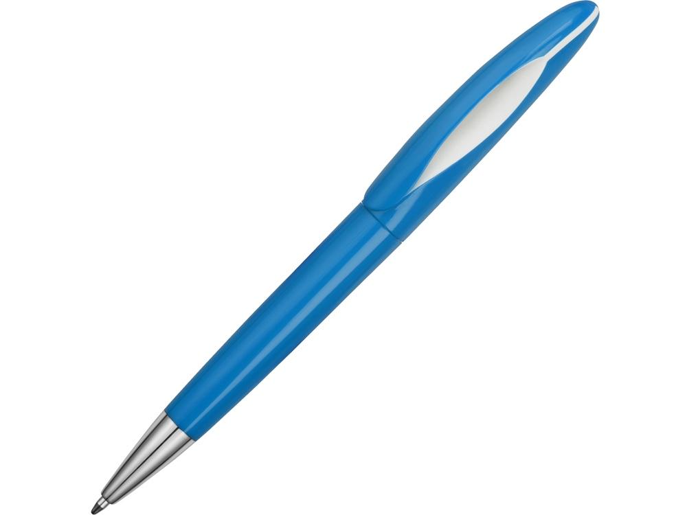 Ручка пластиковая шариковая «Chink», голубой/белый
