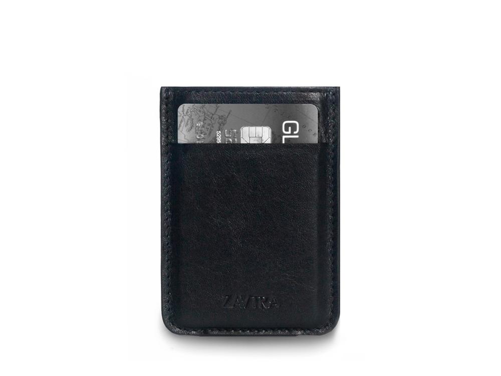 Минималистичный кошелек, черный