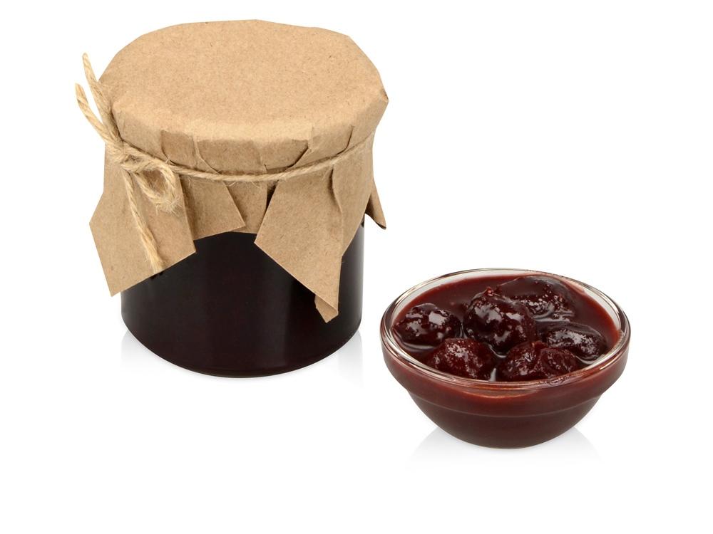 Варенье из вишни с шоколадом и коньяком, 295 г в подарочной обертке
