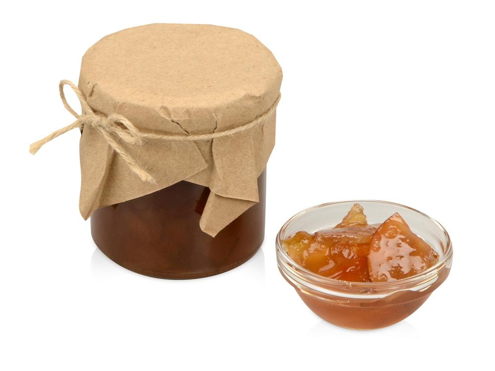 Грушевое варенье с яблоками и корицей в подарочной обертке