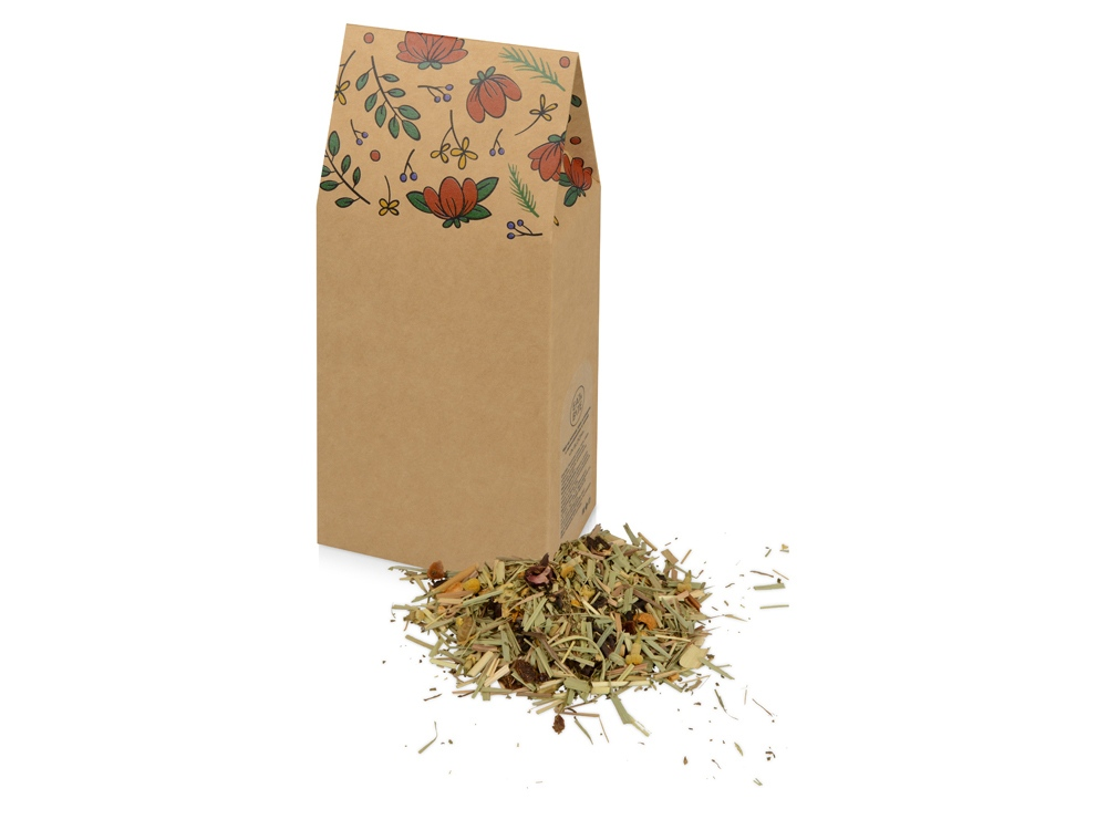 In Bloom чай на основе трав и плодов с лемонграссом и мятой, 60 г., крафт