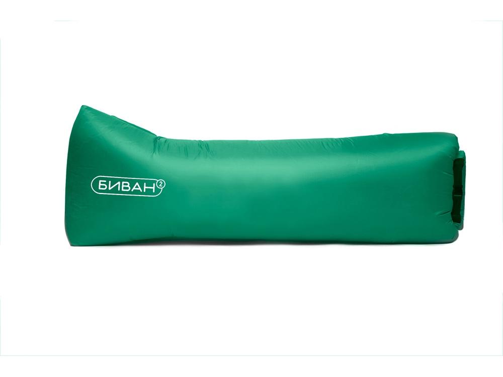 Надувной диван «Биван Promo», зеленый