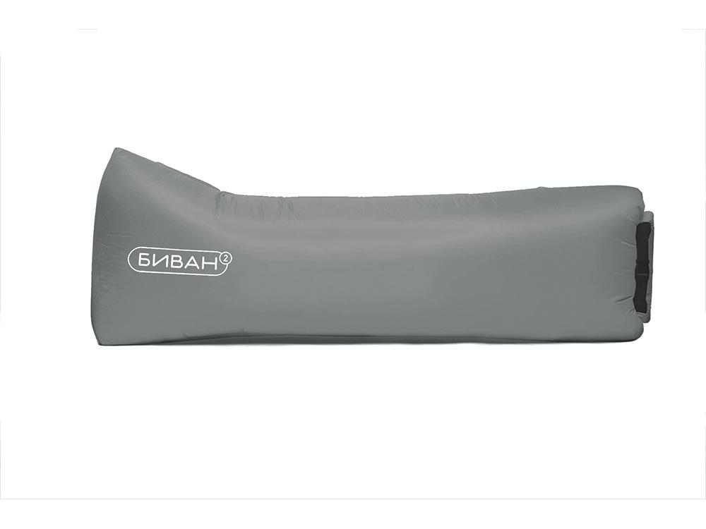 Надувной диван «Биван Promo», светло-серый