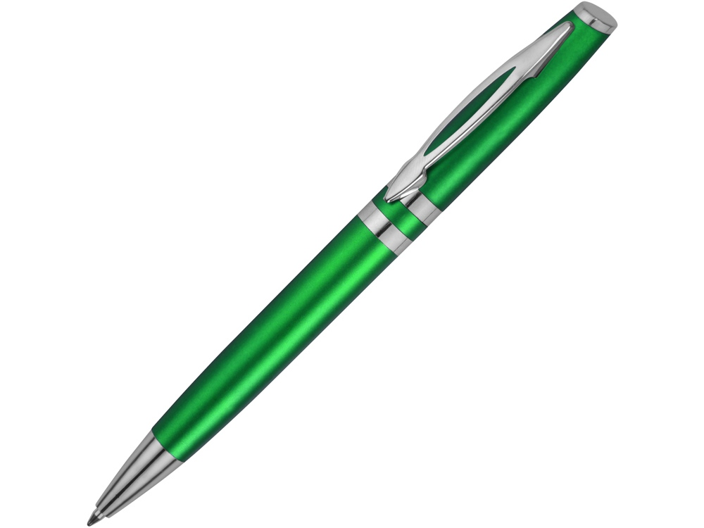 Ручка шариковая Невада, зеленый металлик