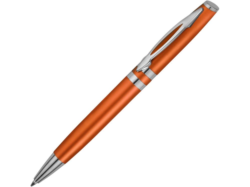 Ручка шариковая Невада, оранжевый металлик