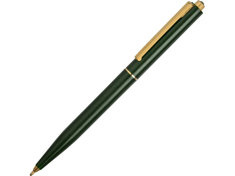 Ручка шариковая Senator модель Point Gold, зеленый