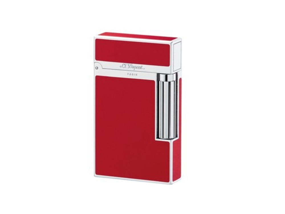Зажигалка Ligne2. S.T.Dupont, красный/серебристый