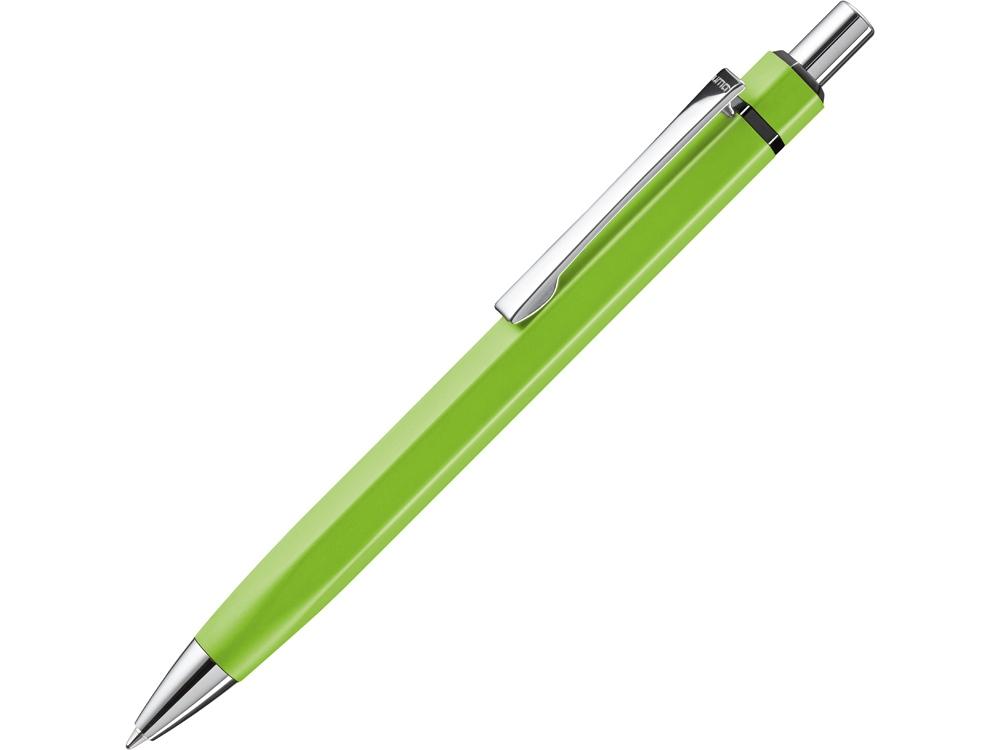 Ручка шариковая шестигранная UMA «Six», зеленое яблоко