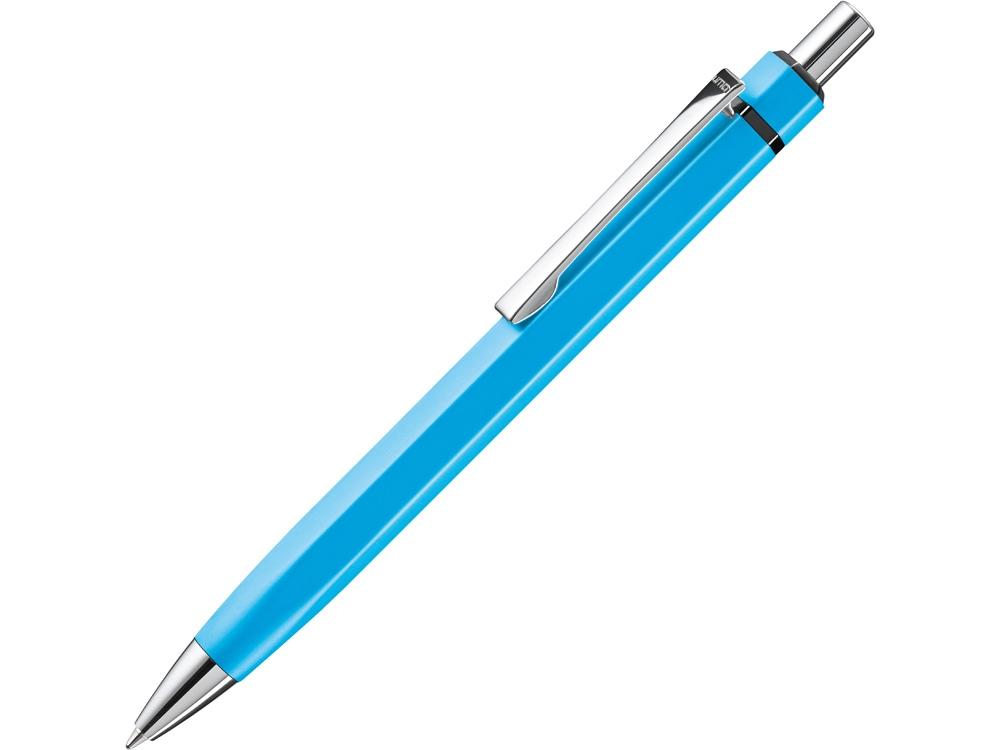 Ручка шариковая шестигранная UMA «Six», голубой