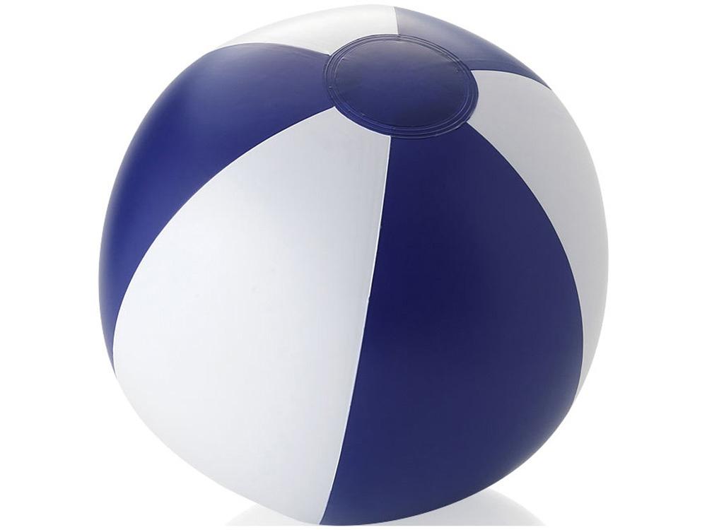 Пляжный мяч «Palma», синий/белый