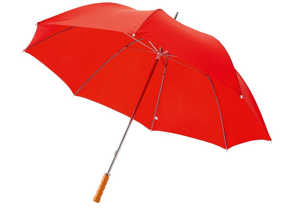 Зонт Karl 30 механический, красный