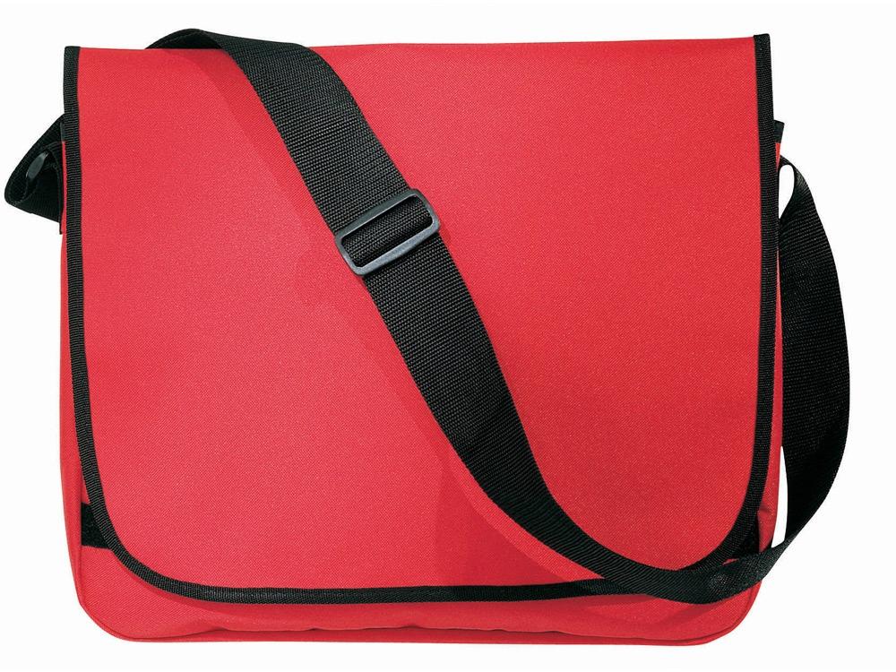 Сумка на плечо Malibu, красный/черный
