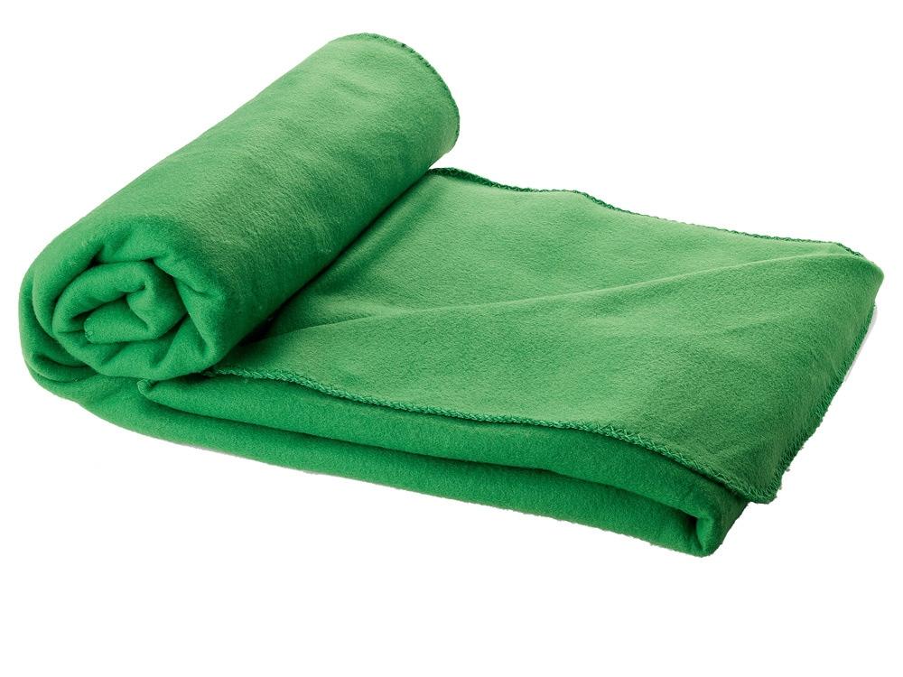 Плед в чехле Huggy, зеленый