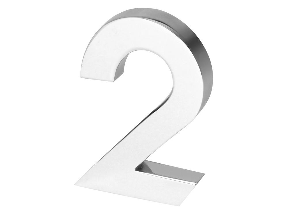 Цифра «Два» для часов 628089 и 628099, серебристый